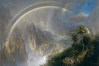 """Rainy Season in the Tropics,"" Frederic Edwin Church"
