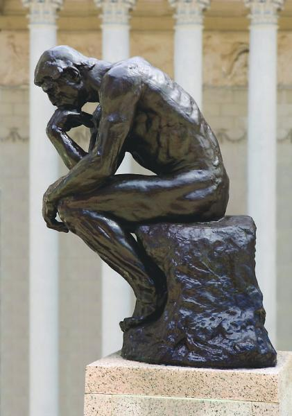 Thinker >> Frame Work The Thinker By Auguste Rodin Famsf