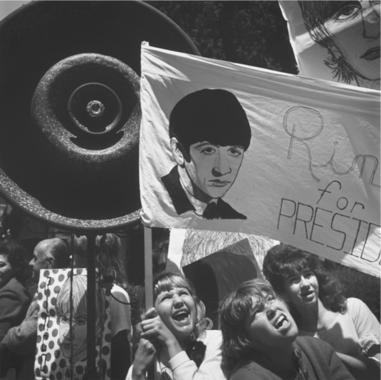 Arthur Tress, Untitled (Ringo for President Rally, Untion Square), 1964