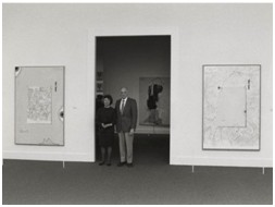 Robert and Jane Meyerhoff at the National Gallery of Art, October 24, 1988