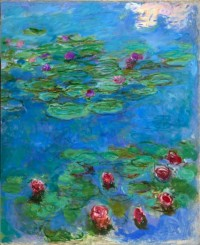 Claude Monet, Water Lilies, ca. 1914–1917