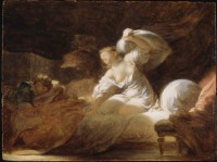 "Jean-Honoré Fragonard, French, 1732–1806, ""The Useless Resistance (La Resistance Inutile)"", ca. 1770"