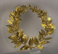 Gold wreath, 4th-3rd century BC