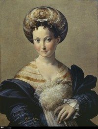Parmigianino portrait of women known as Schiava Turca
