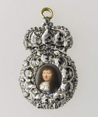 Miniature of Louis XIV, 1670