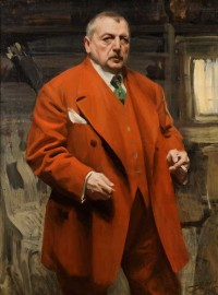 Anders Zorn, Self-Portrait in Red