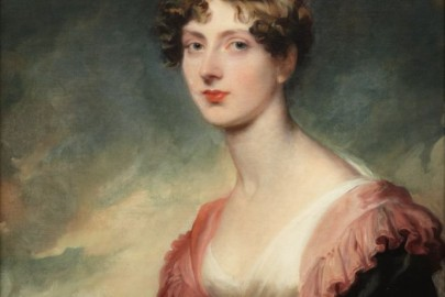 Thomas Lawrence painting of the Countess of Plymouth