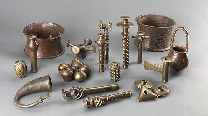 Ritual Hoard of Copper Objects