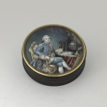Box (bonbonnière) with portrait of the comte de Provence