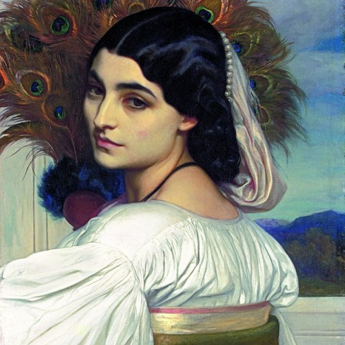 Frederic Leighton, Pavonia, 1858–1859. Private collection