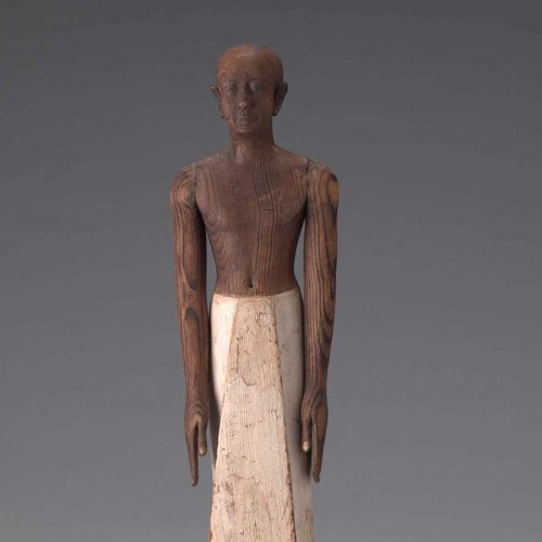 Seneb, the royal scribe, Egyptian, Middle Kingdom, early Dynasty 12, ca. 1938–1850 BC. Painted wood (probably sycamore). FAMSF, the Estate of Virginia B. Landensohn; Ms. Lisa Sardegna and Mr. David A. Carrillo; Martin I. and Margaret J. Zankel and Herbert and Jan West; The Chickering Endowment; Friends of Ian White; The Michael Taylor Trust; Volunteer Council Acquisition Fund; Diane B. Wilsey; Charlotte and Rolf Scherman; Ancient Art Council; Dr. and Mrs. Bernard von Bothmer; Teresa Keller Tilden and Dougla