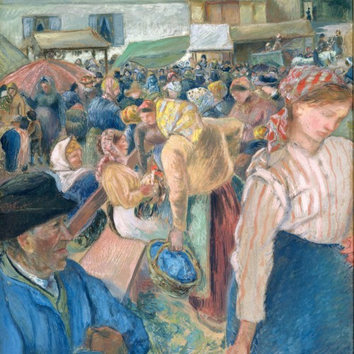 The Marketplace, 1882