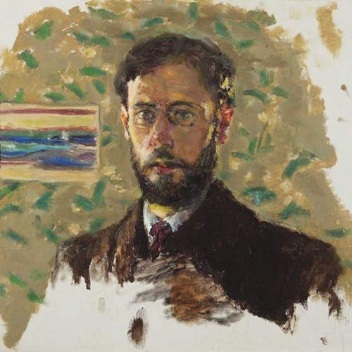 "Pierre Bonnard, ""Self-Portrait"", ca. 1904. Oil on canvas. Private collection"