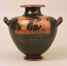 Red-figure hydria. Greek, Athens, 480‒450 BC