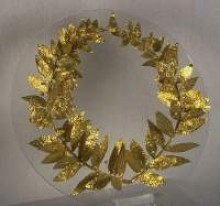 Wreath from Greece, 4-3rd century BC
