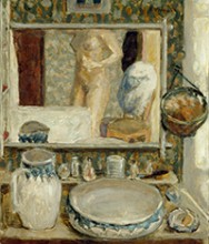 Pierre Bonnard, La table de toilette, 1908