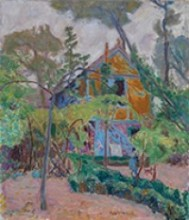 Pierre Bonnard, House among Trees