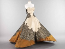 """Charles James, """"Clover"""" ball gown"""