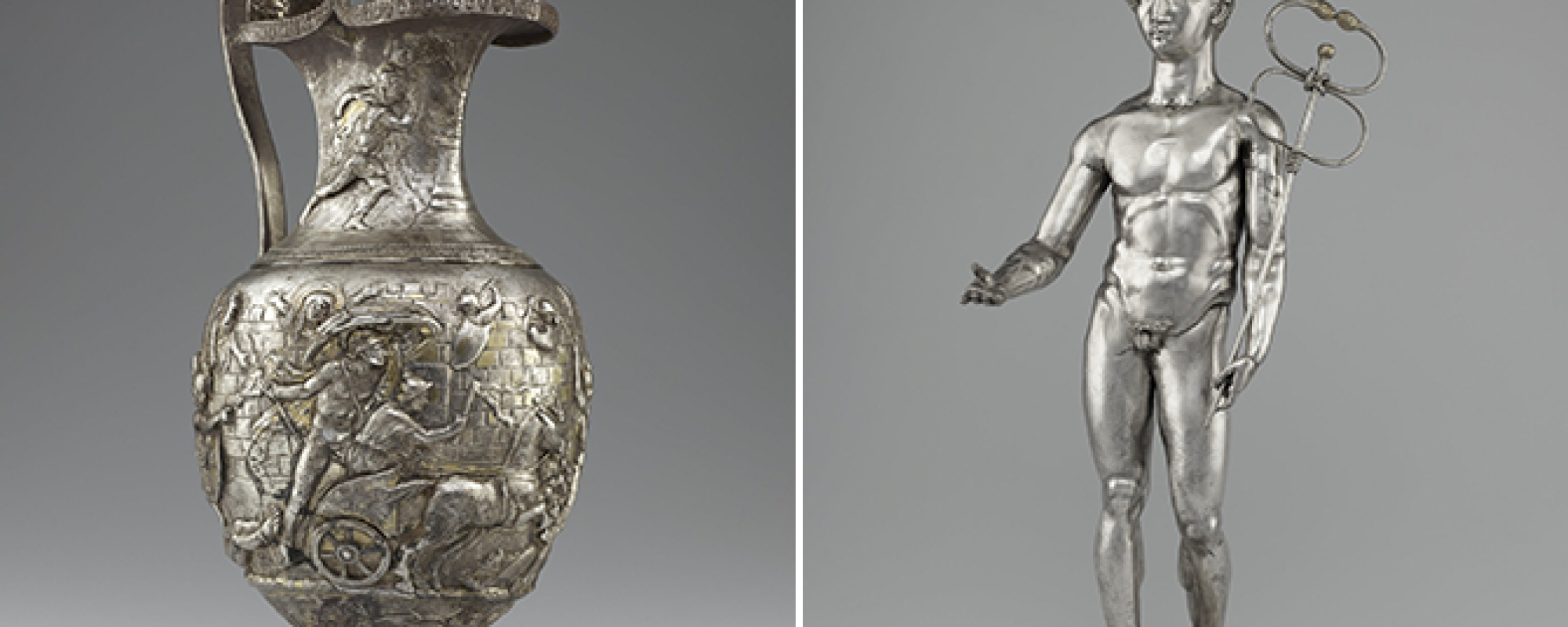 Pitcher with Scenes from the Trojan War / Mercury