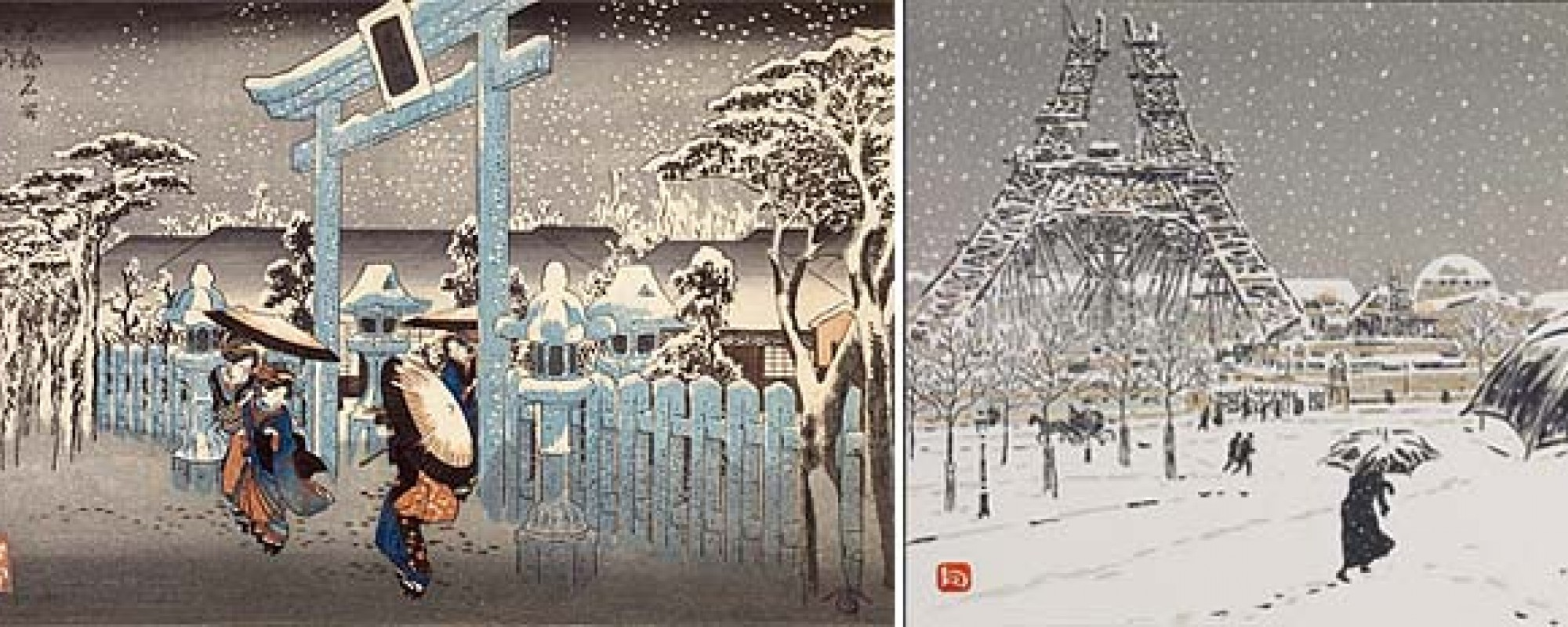 D Printing Exhibition Tokyo : Japanesque the japanese print in era of impressionism