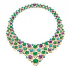 Bulgari bib necklace