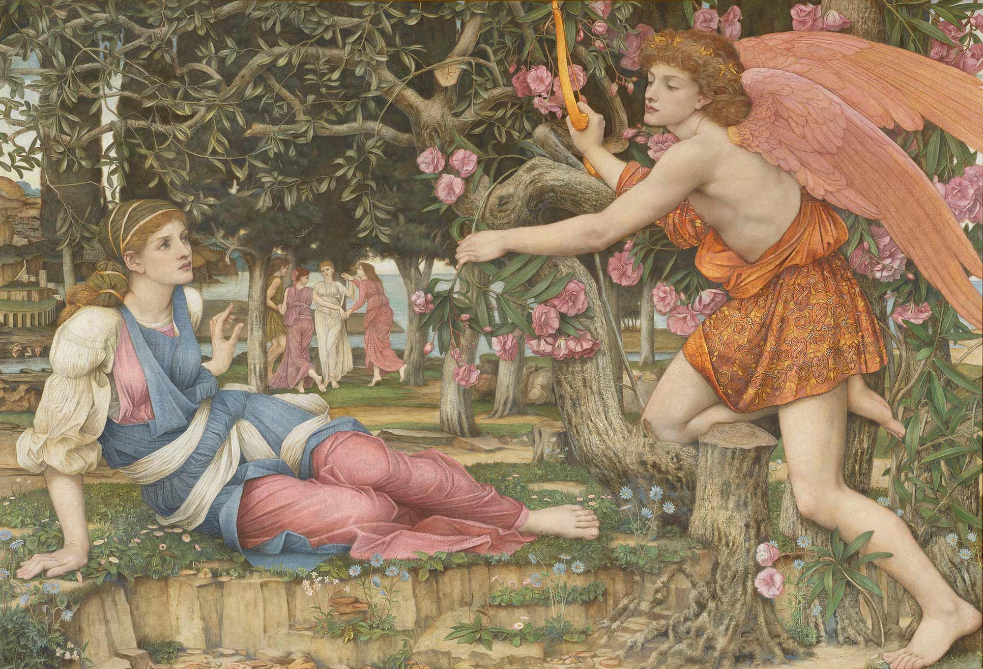 "Preserve: John Roddam Spencer Stanhope's ""Love and the Maiden"""