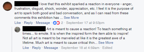 """Positive feedback for the exhibition """"Sarah Lucas: Good Muse"""" at the Legion of Honor museum"""