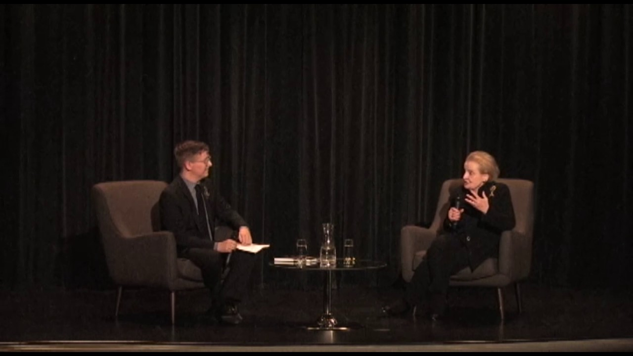 A Conversation with Madeleine Albright