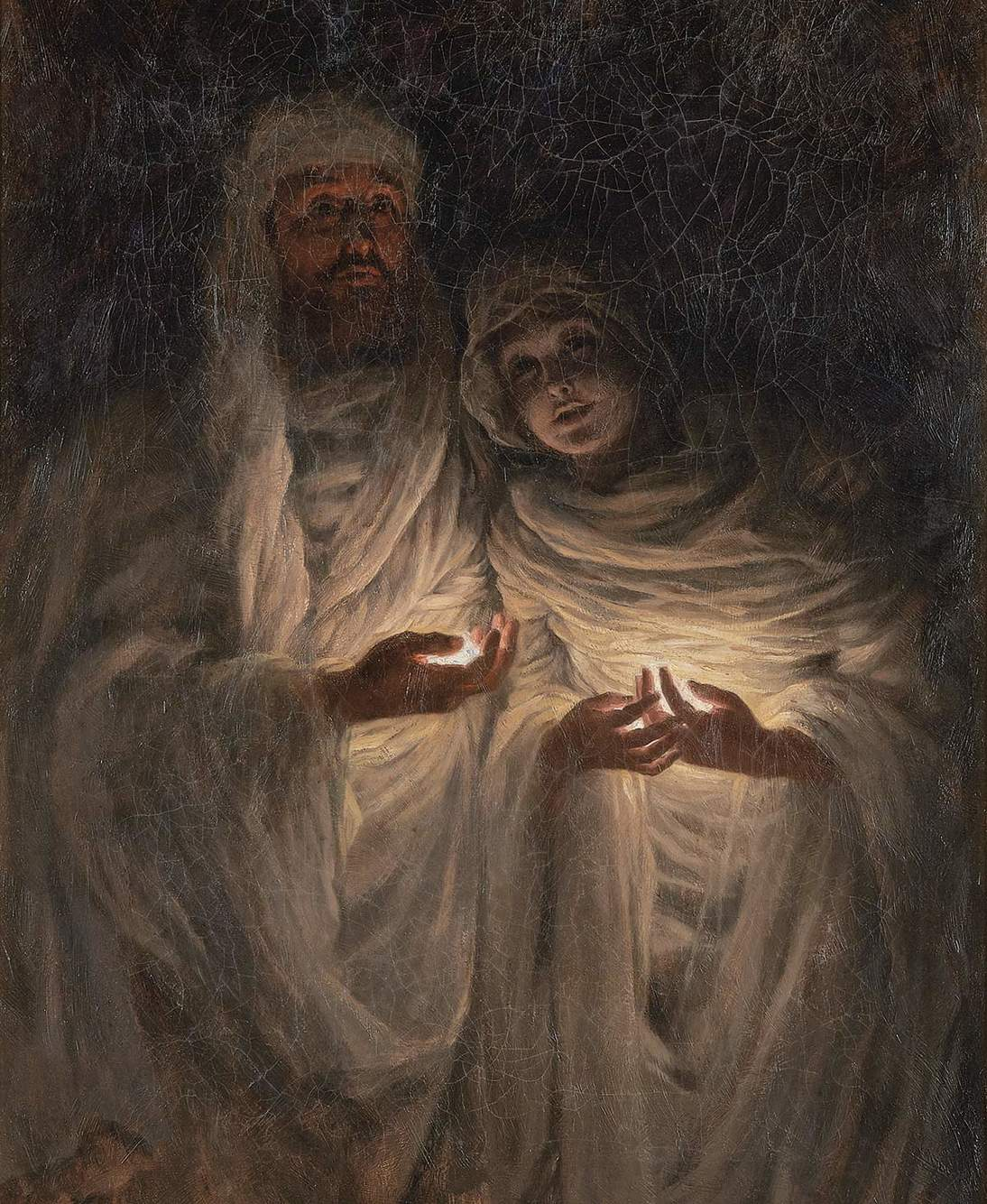 """""""The Apparition,"""" 1885. Oil on canvas"""