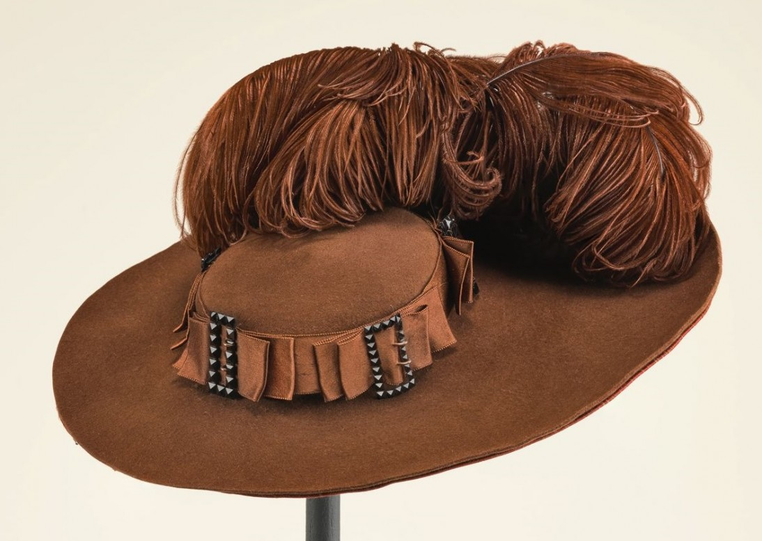 Woman's hat, ca. 1892