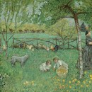 Pierre Bonnard, Le Grand Jardin, 1895. Oil on canvas. Collection of the Musee d'Orsay