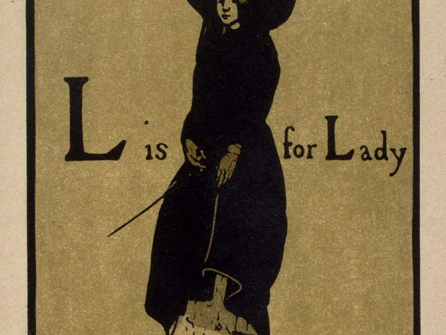 L is for Lady