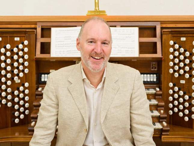Jonathan Dimmock and the Skinner Organ at the Legion of Honor