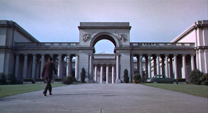 Exterior of the Legion in Vertigo