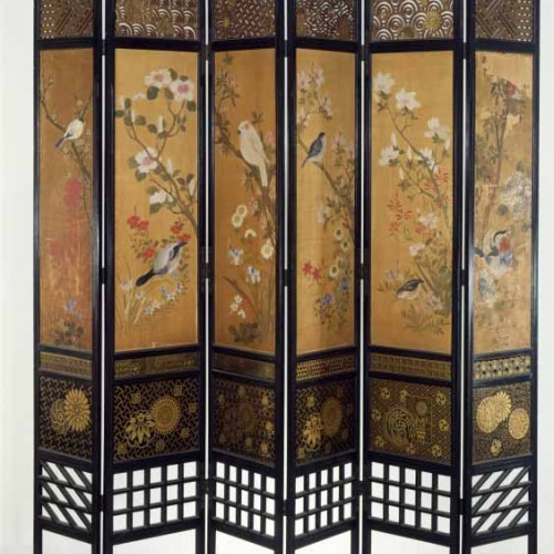 William Eden Nesfield, Screen, 1867. Victoria and Albert Museum