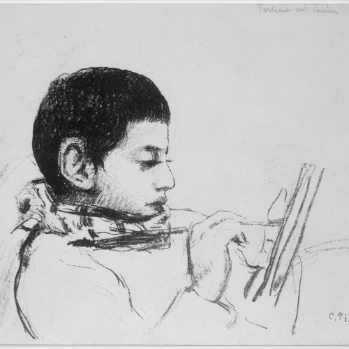 Portrait of the Artist's Son, Lucien, 1874