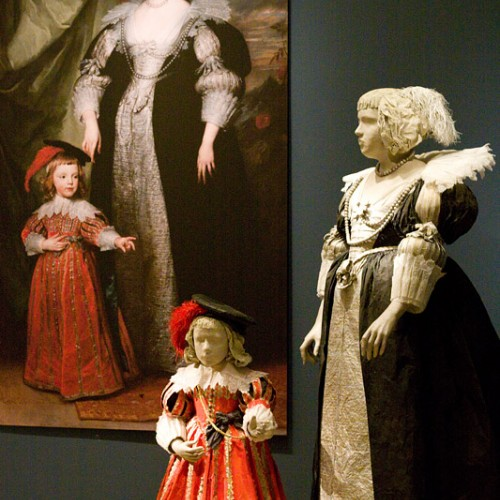Marie Claire de Croy and Child, after the painting by Van Dyck, 2010