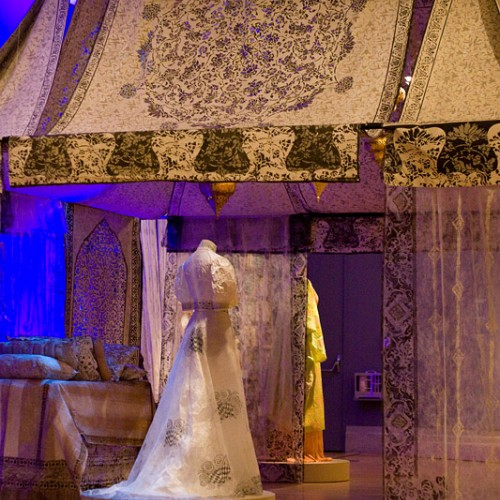 Fortuny tent