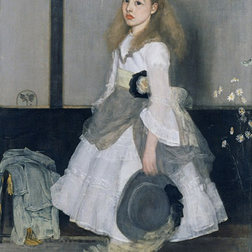 James McNeill Whistler, Harmony in Grey and Green: Miss Cicely Alexander, 1872–4