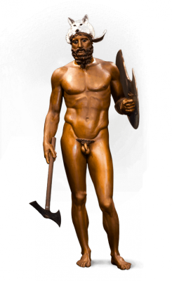 Reconstructions of the Riace Warriors (A and B), 2015-2016