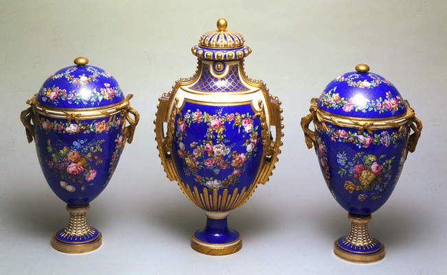 Sèvres Factory (manufacturer), Covered vase, 1768