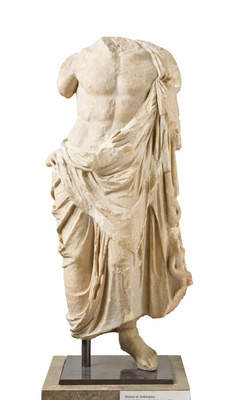 Statue of Asklepios, Hellenistic period, 2nd century BC Greece