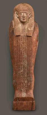 Anthropoid coffin of Iret-hor-irou, Dynasty 30, 380–343 BC Egypt