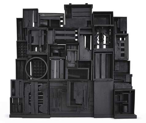 "Louise Nevelson, ""Sky Cathedral's Presence I,"" 1959–1962"