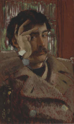 "James Tissot, ""Self Portrait,"" ca. 1865"