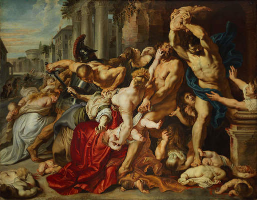 "Peter Paul Rubens, ""The Massacre of the Innocents,"" ca. 1610"