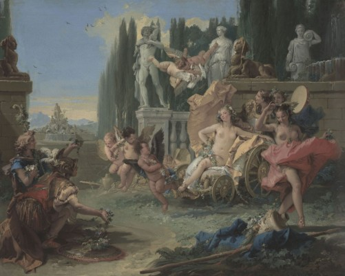 "Giovanni Battista Tiepolo (Italian, 1696–1770), ""The Empire of Flora"", ca. 1743"