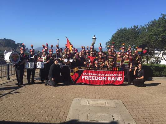 San Francisco Lesbian/Gay Freedom Band, Courtesy of SFLGFB
