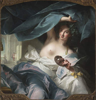 "Jean-Marc Nattier, ""Thalia, Muse of Comedy,"" 1739"