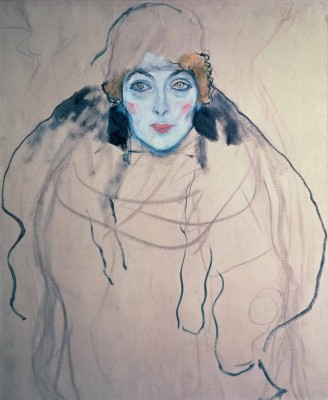 "Gustav Klimt, ""Portrait of a Lady"", 1917–1918"